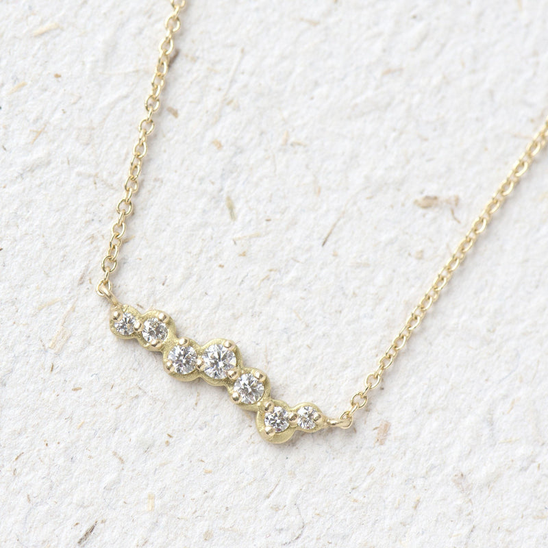 Cascade Diamond Necklace - Anne Sportun Fine Jewellery