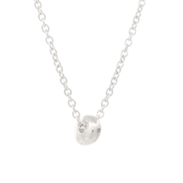 "Silver ""Dot"" Luck Necklace"