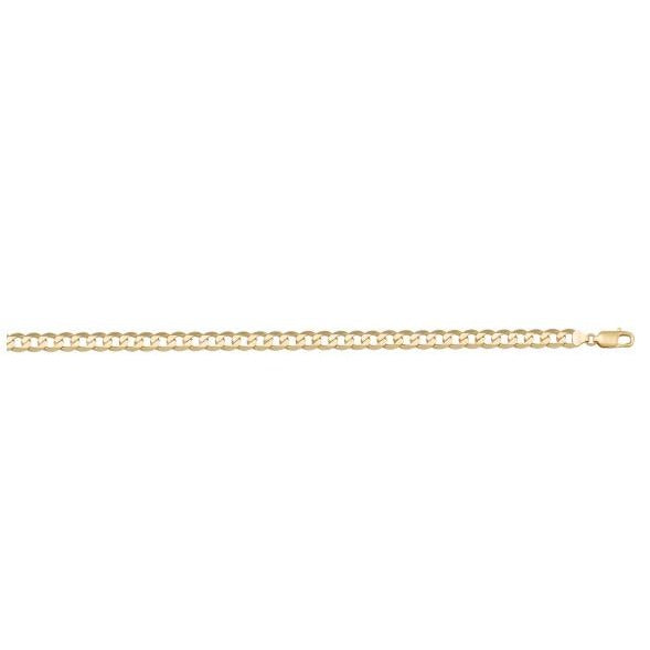 SOLID OPEN LINK CHAIN - 14k YELLOW GOLD - 3MM