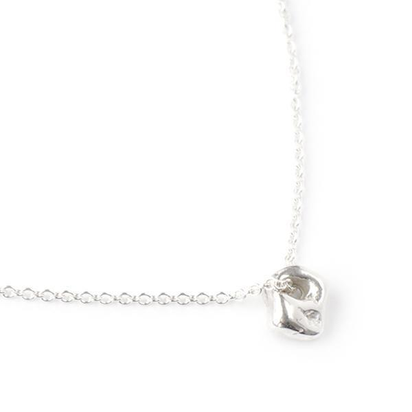 """Ghostie"" Luck Necklace - Silver"