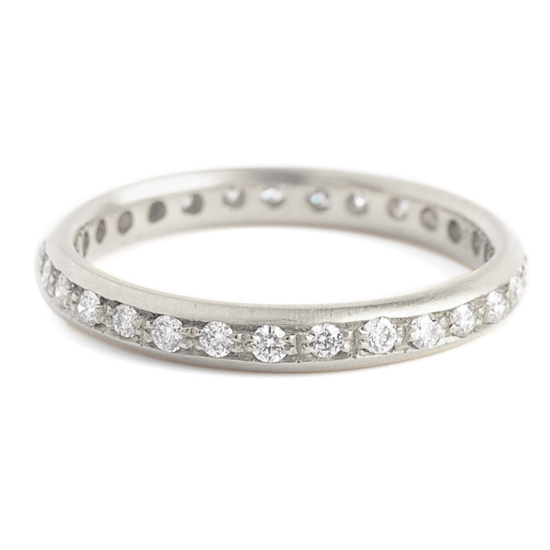 Diamond Single Row Band - Anne Sportun Fine Jewellery