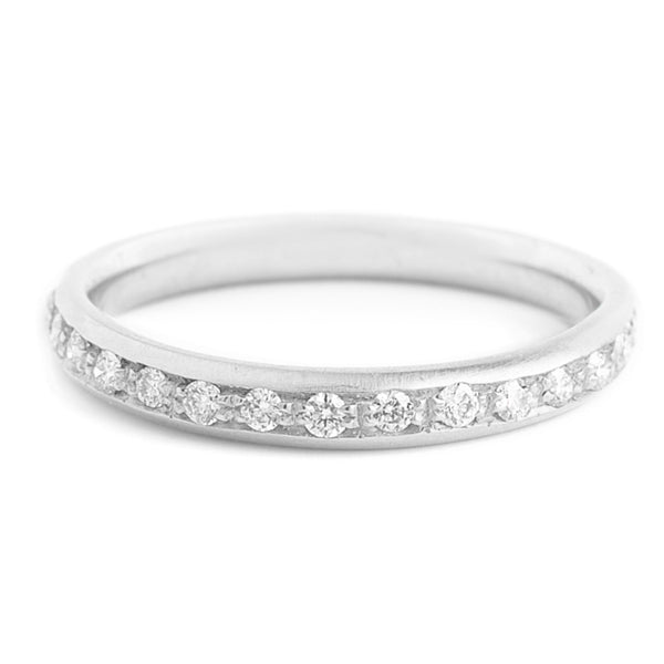 Diamond Single Row Band