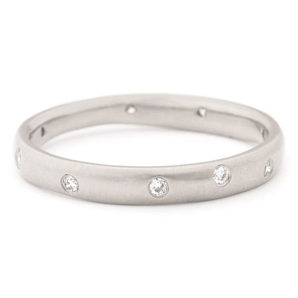 Diamond Wonky Band - Anne Sportun Fine Jewellery