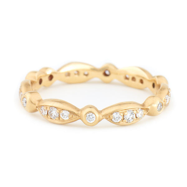 Marquise Diamond Pave Band