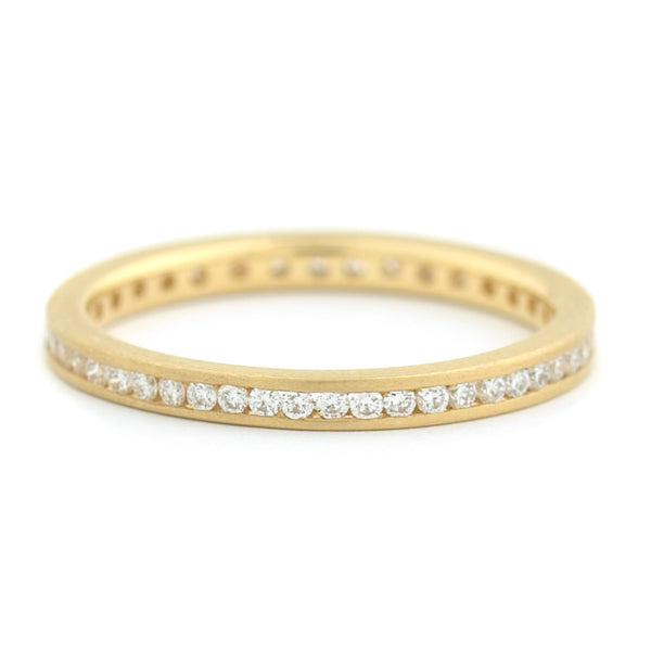 Mini Eternity Band - Anne Sportun Fine Jewellery Toronto, Canada, and U.S.
