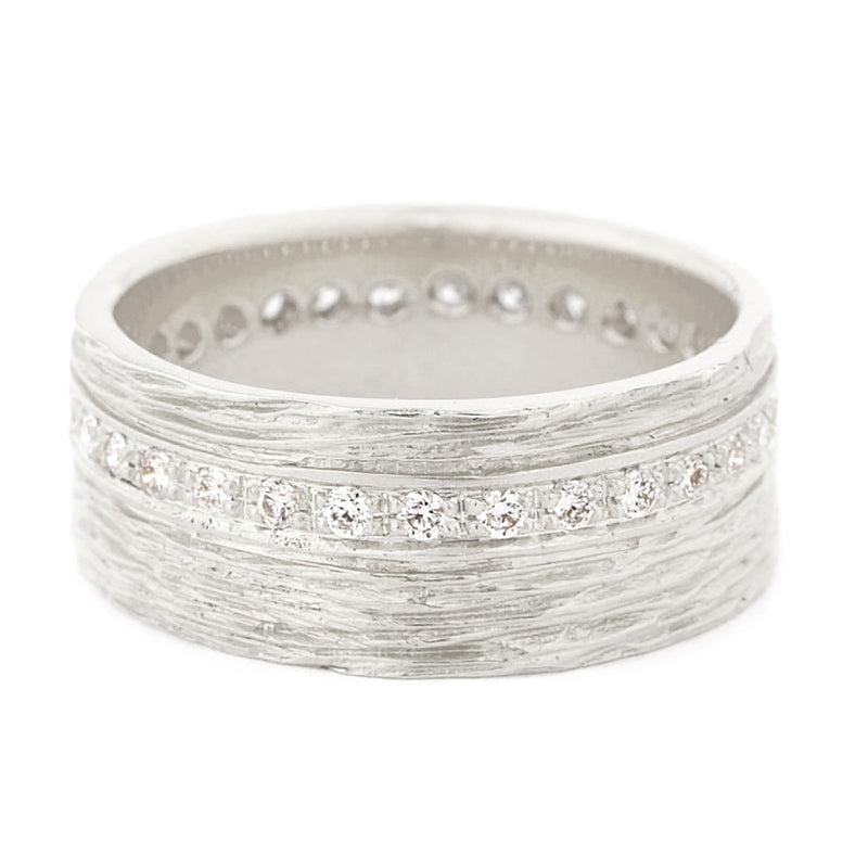 Eternity Gold Bark Band - Anne Sportun Fine Jewellery