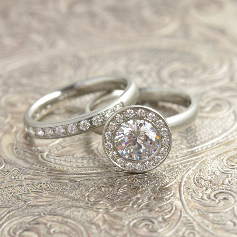 The Martini Engagement Ring - Anne Sportun Fine Jewellery Toronto, Canada, and U.S.