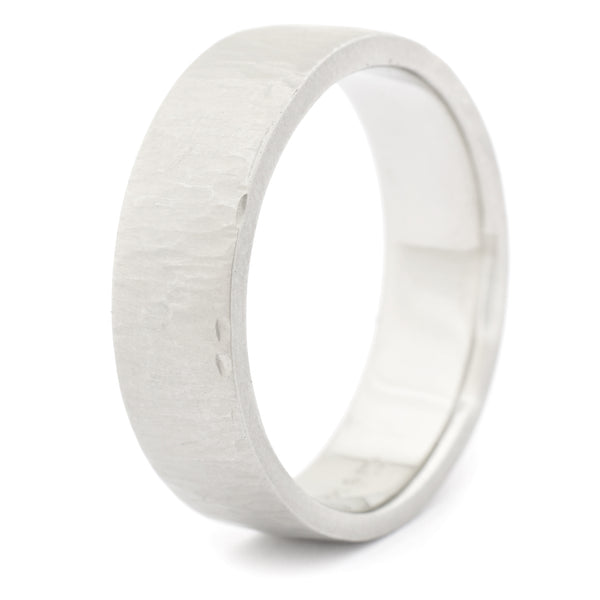 Line Texture Men's Band - Anne Sportun Fine Jewellery Toronto, Canada, and U.S.
