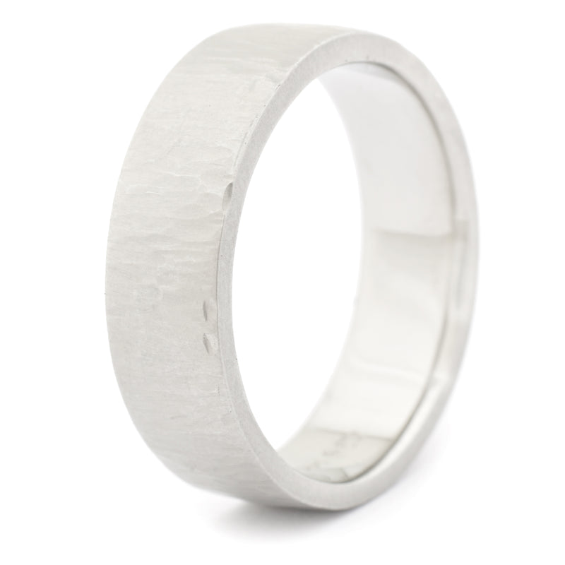 Line Texture Men's Band - Anne Sportun Fine Jewellery