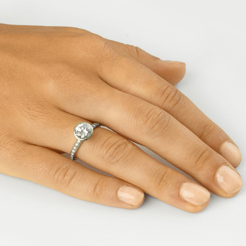 The Louisa Engagement Ring - Anne Sportun Fine Jewellery Toronto, Canada, and U.S.
