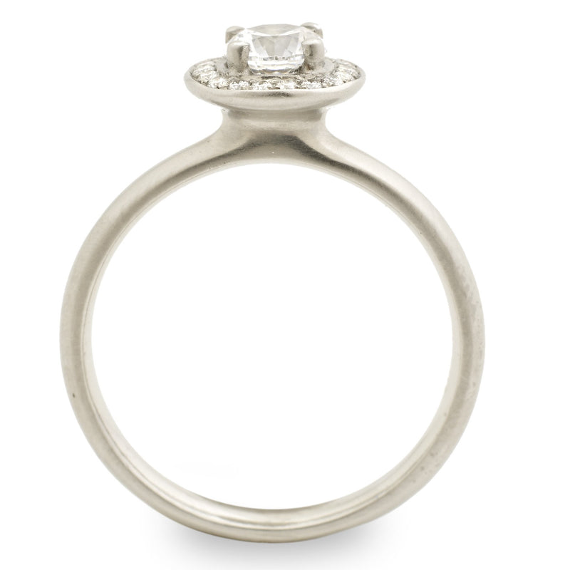 The Original Halo Engagement Ring - Anne Sportun Fine Jewellery