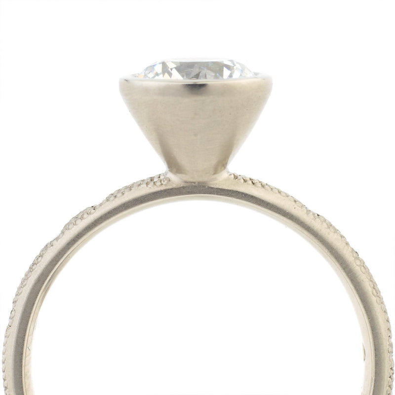 Stardust Bezel Engagement Ring - Anne Sportun Fine Jewellery Toronto, Canada, and U.S.