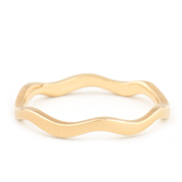 Wave Band - Anne Sportun Fine Jewellery Toronto, Canada, and U.S.