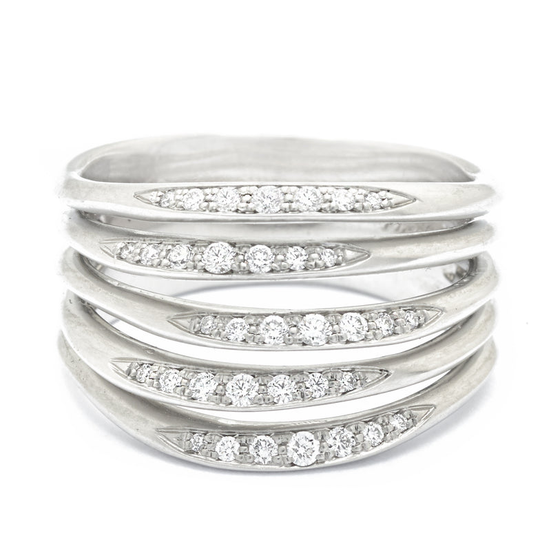 Stacked Five Flow Band - Anne Sportun Fine Jewellery Toronto, Canada, and U.S.