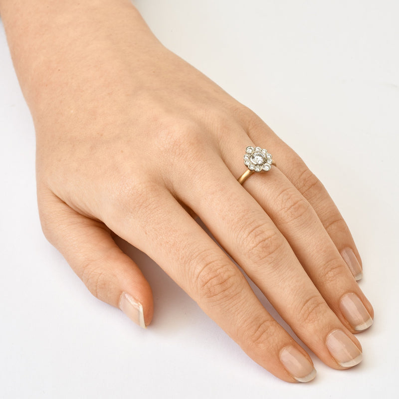 Olivia Scalloped Engagement Ring - Anne Sportun Fine Jewellery