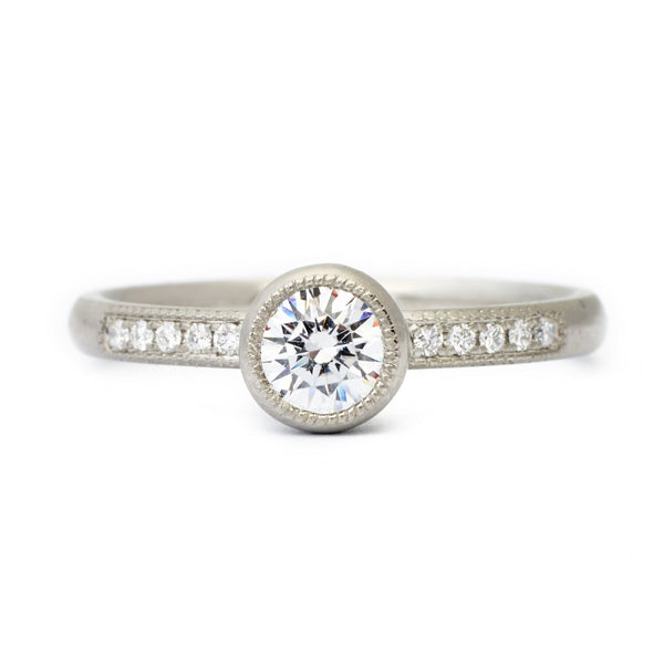 Dorothy Engagement Ring - Anne Sportun Fine Jewellery Toronto, Canada, and U.S.