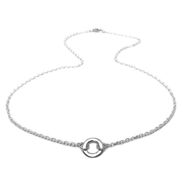 Integrated Small Circlet Necklace