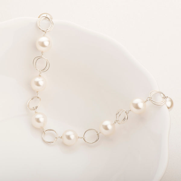 Ashley Pearl Necklace Long