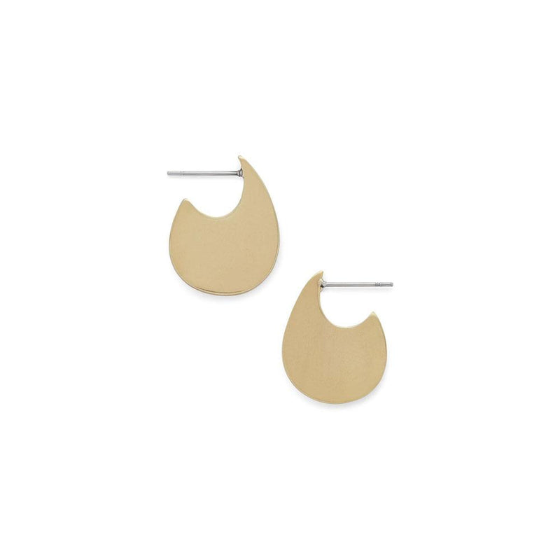 Teardrop Huggie Stud Earrings