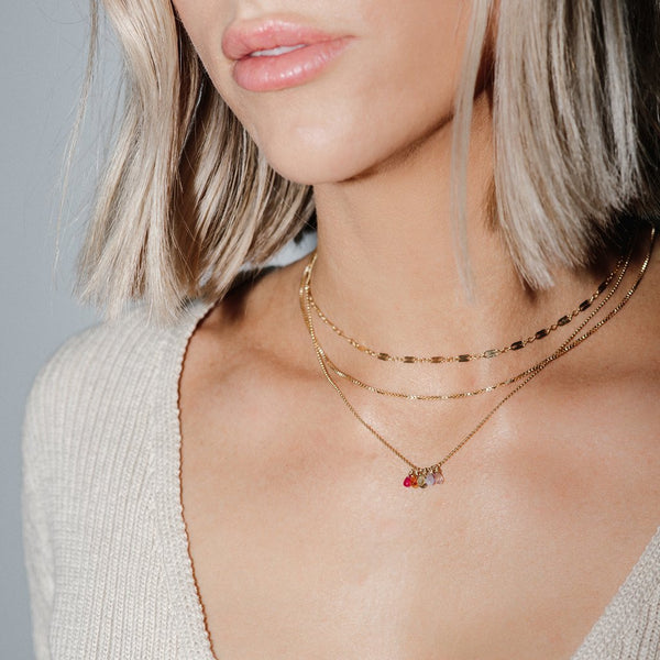 MARA CHAIN NECKLACE | GOLD - Anne Sportun Fine Jewellery