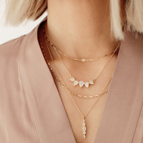 SUNNY NECKLACE | MOONSTONE - Anne Sportun Fine Jewellery