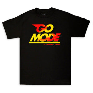 "Layzie Bone & Caine ""Go Mode"" Tee Black"