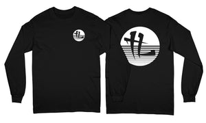 """TL Stripped Logo"" Long Sleeve Black"