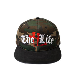 "TL Old English ""Camo"" Snapback"