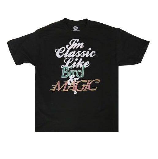 Classic Like Bird and Magic Tee Black