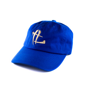 "TL Logo ""Royal/Tan"" Dad Hat"