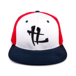 "TL Logo ""Red,White,Navy"" Snapback"
