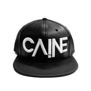 "Caine ""Black Patent Leather"" Snapback"