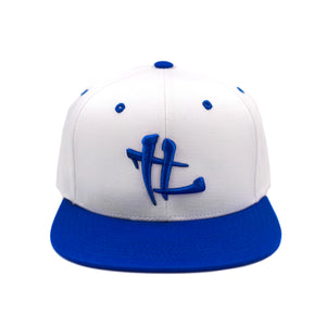 "TL Logo ""White/ Royal Blue"" Snapback"