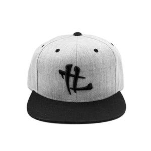 "TL Logo ""Heather Grey/Black"" Snapback"