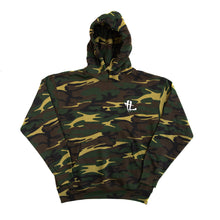 "Load image into Gallery viewer, TL Embroidered Logo ""Camo"" Hoodie"
