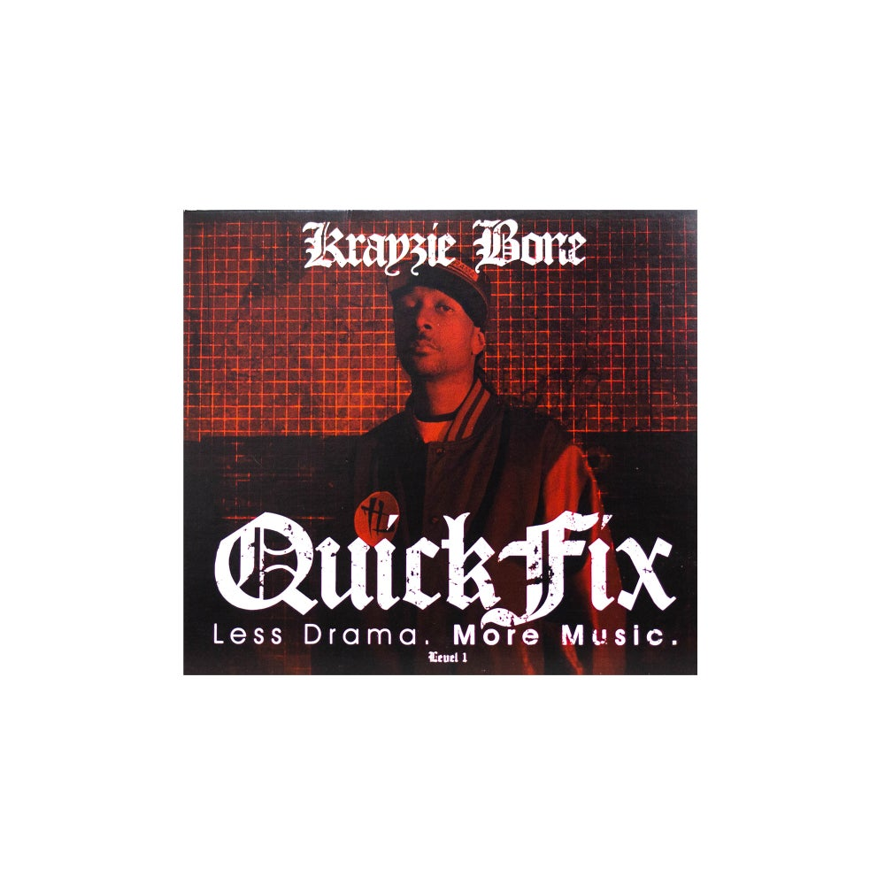 Krayzie Bone: QUICKFIX 1 Physical Re release