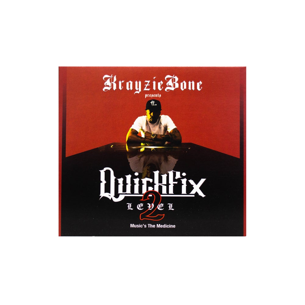 Krayzie Bone : QUICKFIX 2 Physical Copy