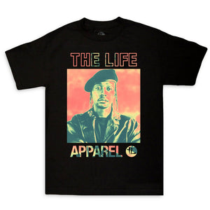"The Life Apparel On The Line ""Black"" Tee"