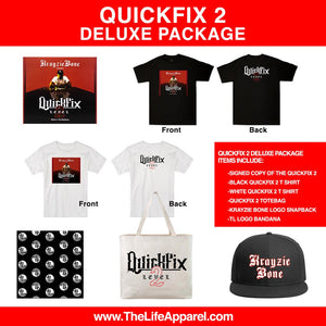 Krayzie Bone : QUICKFIX 2 Deluxe Package