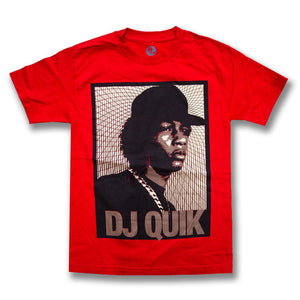 "DJ Quik ""Portrait"" Tee Red"