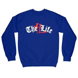 "TL Old English ""Royal Blue"" Crewneck"