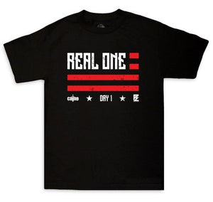 "Caine"" Real Ones"" Tee Black"