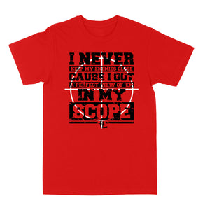 "Scope ""Red"" Tee"