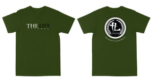 "The Life Seal ""Olive"" Tee"