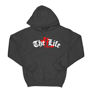 "TL Old English Logo ""Charcoal"" Hoodie"