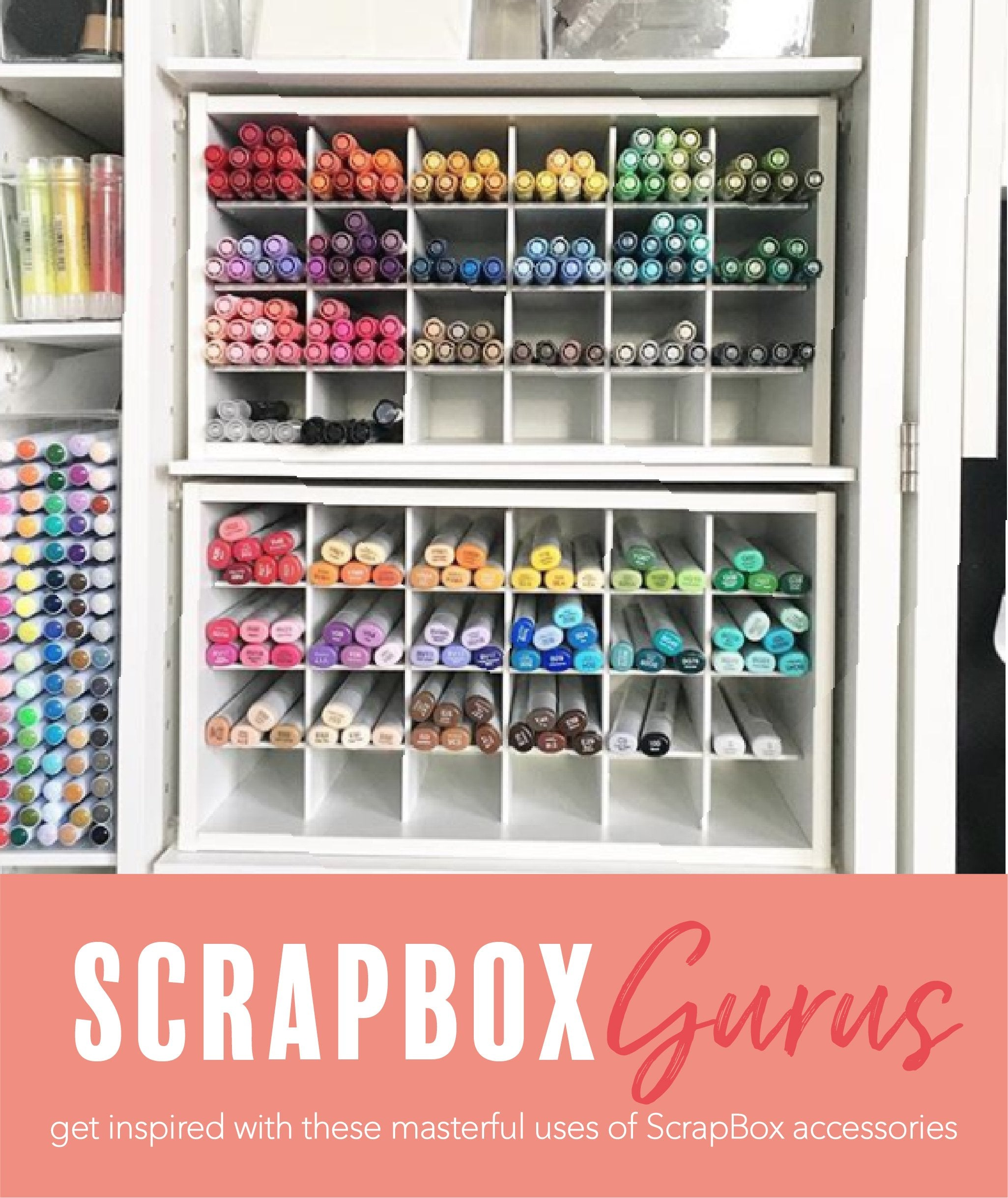 Get the most out of your ScrapBox furniture!
