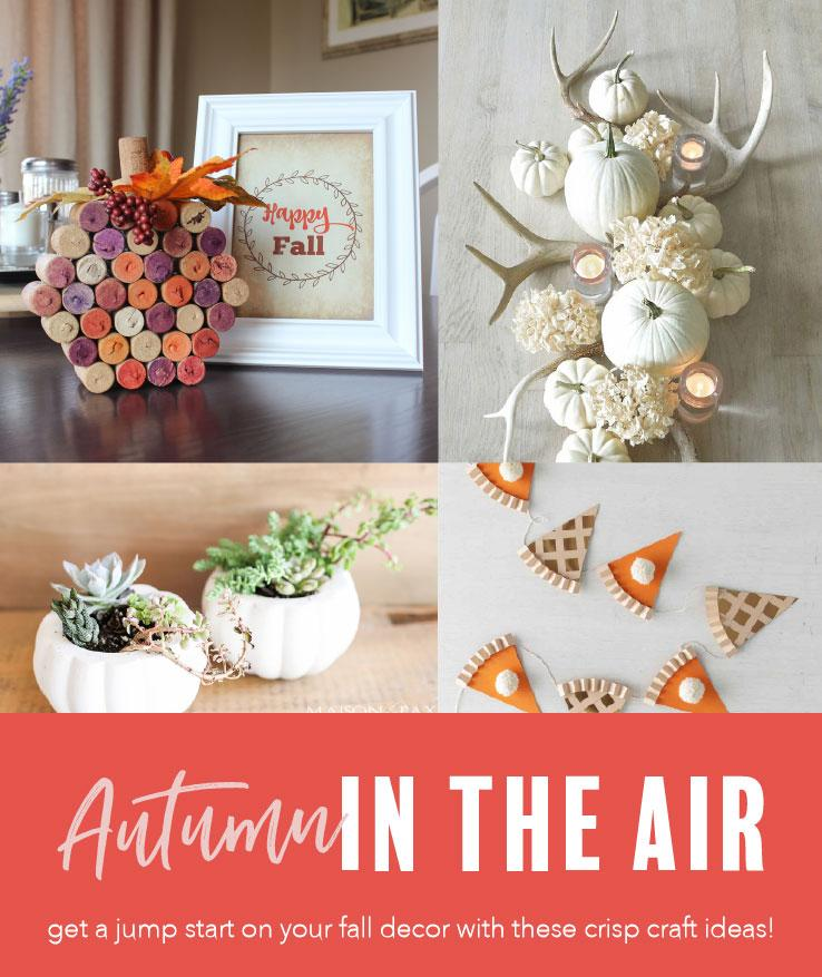 Prep for fall with these 7 fall decor DIYs