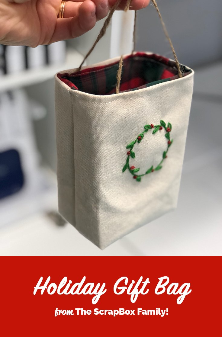 DIY Holiday Gift Bag