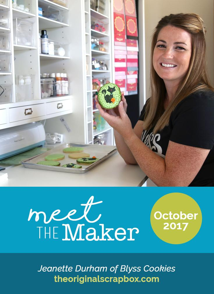 Meet The Maker: Jeanette Durham of Blyss Cookies