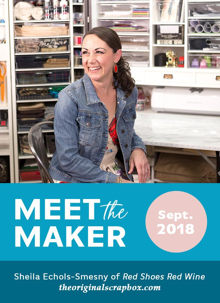 Meet The Maker: Sheila Echols-Smesny of Red Shoes Red Wine